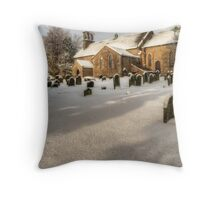 St Giles Church, Bowes Throw Pillow