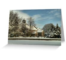 St Giles Church, Bowes Greeting Card