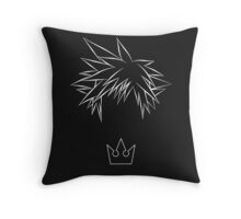 Minimal Sora from Kingdom Hearts Throw Pillow