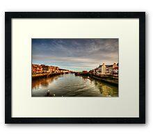 River Esk, Whitby Framed Print