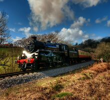 Approaching Grosmont by Stephen Smith