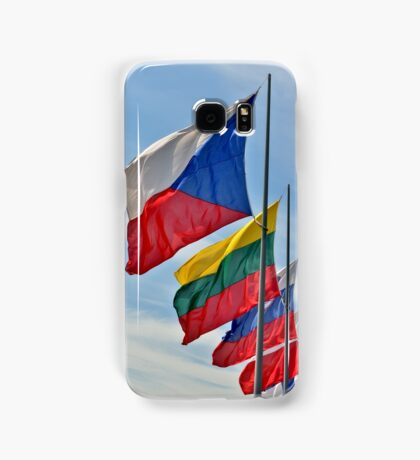 Flags of different countries of European Union  Samsung Galaxy Case/Skin