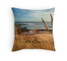 Whitby Coast Throw Pillow