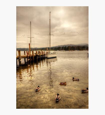 Coniston Water Photographic Print