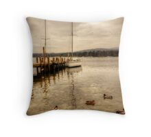 Coniston Water Throw Pillow