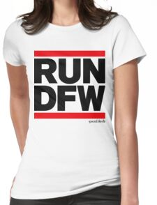 Run Dallas-Ft. Worth DFW (v1) Womens Fitted T-Shirt
