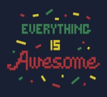 Everything Is Awesome One Piece - Long Sleeve