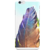 Fade Into Feathers iPhone Case/Skin