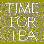 Time For Tea (Gold) by Donna Huntriss