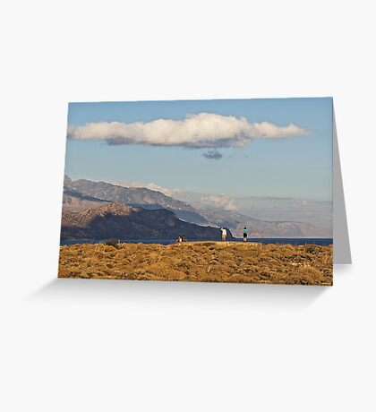 South West Crete Greeting Card