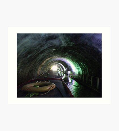 Newbold Tunnel   -  Northern Oxford Canal.........! Art Print