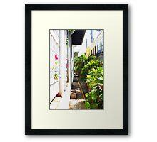 Alleys of San Juan Framed Print
