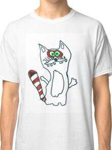 Mr Raccoon the Cool Cartoon Comic Friend Classic T-Shirt