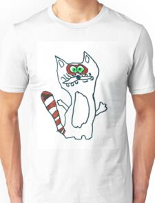 Mr Raccoon the Cool Cartoon Comic Friend Unisex T-Shirt
