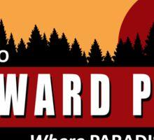 Welcome to Wayward Pines Sticker