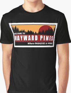 Welcome to Wayward Pines Graphic T-Shirt