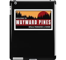 Welcome to Wayward Pines iPad Case/Skin