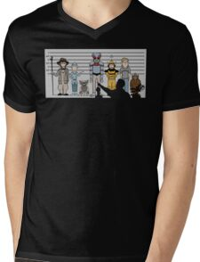 The Unusual Suspects Mens V-Neck T-Shirt