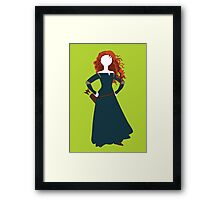 Princess Merida from Brave Disney Framed Print