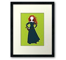 Princess Merida from Brave Disney Framed Print