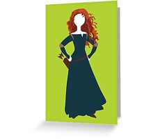 Princess Merida from Brave Disney Greeting Card