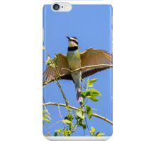 White-Throated Bee Eater iPhone Case/Skin