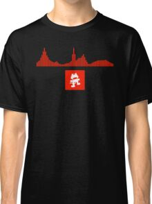 Monstercat Visualizer - DnB Red Classic T-Shirt
