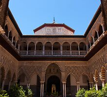 The Courtyard Of The Maidens, Seville by AMazzocchetti