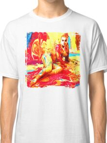 Painted Woman Classic T-Shirt