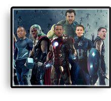 The Avengers/G.S. Warriors Mashup Metal Print