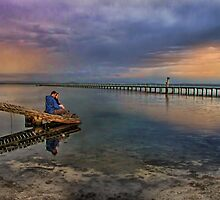 Valentines Day - watching the sunset by Chris Brunton