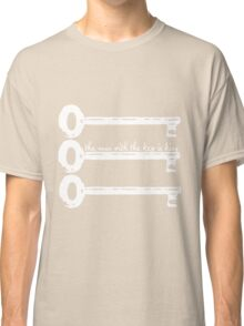 The Man With The Key Is King Classic T-Shirt