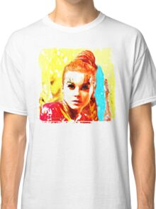 Psychedelic Red Head Classic T-Shirt