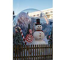 Big Snow Globe Photographic Print