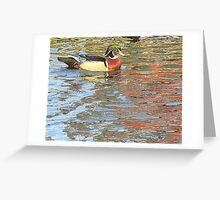 The Sitting Duck Greeting Card
