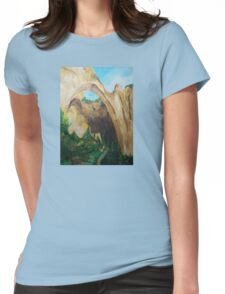 ARCHES painting Womens Fitted T-Shirt