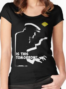 Is This Tomorrow? Women's Fitted Scoop T-Shirt