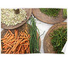 food market Poster