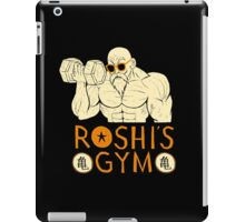 roshi's gym iPad Case/Skin