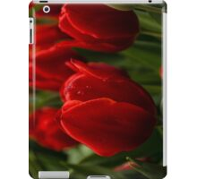 Vivid Red Tulips for Your iPad iPad Case/Skin