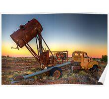 Opal blower truck Poster