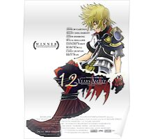Kingdom Hearts - 12 Years Asleep Poster