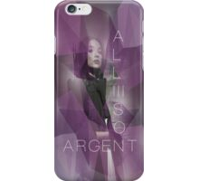 Argent iPhone Case/Skin