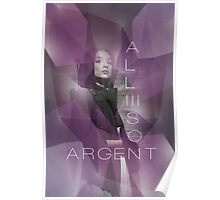 Argent Poster