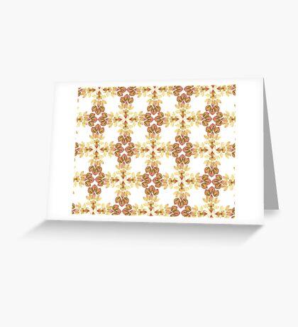 Pink Petal Pattern I Greeting Card