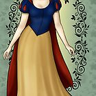 Snow White - Disney Princess by CatAstrophe