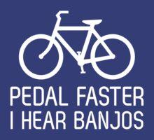 Pedal faster I hear banjos by sportsfan