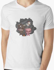 Beaver Mafia Mens V-Neck T-Shirt