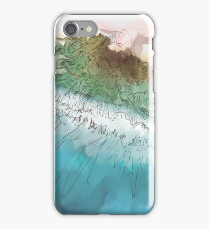 Wavey iPhone Case/Skin