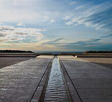 Salk Institue Sky by liminalstate